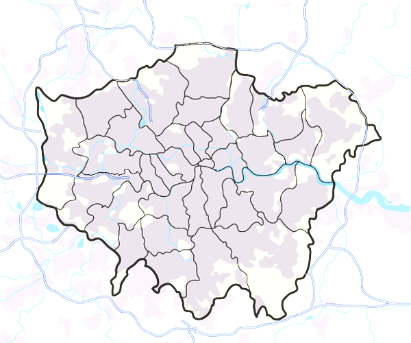 London pest control map